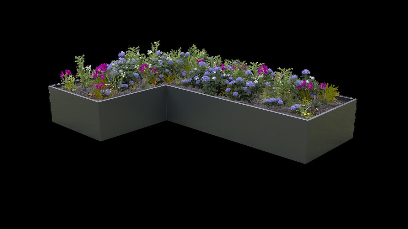 Straight Planter System